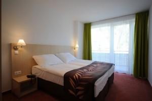 Hongarije hotel Béke slaapkamer
