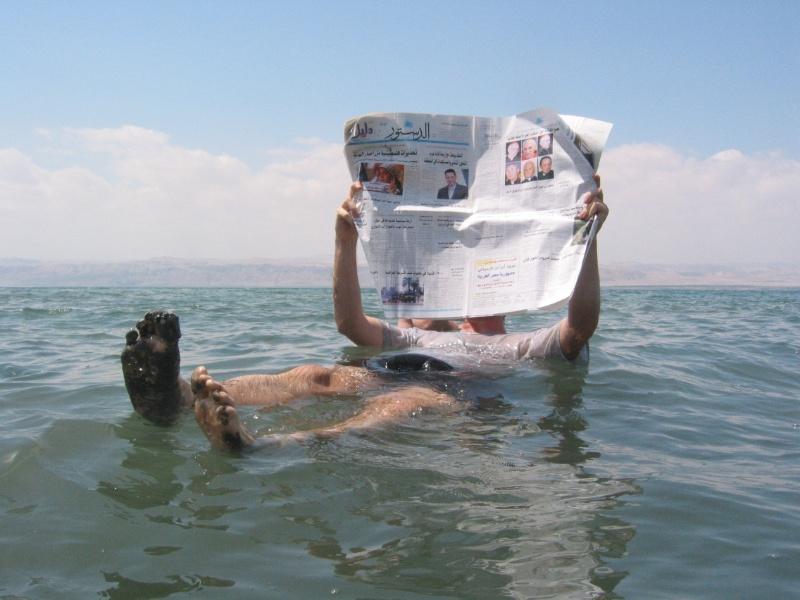 Dode Zee baden
